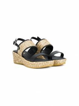 Dsquared2 Kids - сандалии с блестками 63909835500000000000