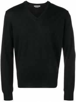 Corneliani - свитер с V-образным вырезом 56966059669350986300