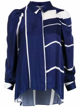 Gloria Coelho - striped silk shirt C6639365908800000000