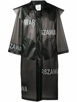 Misbhv длинный дождевик Warszawa SS19M1039
