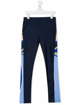 Emilio Pucci Junior - спортивные брюки в стиле колор-блок 669LA856606950990380