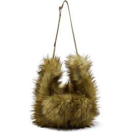 Mm6 Maison Margiela Beige Hat Bag 192188F04600101GB