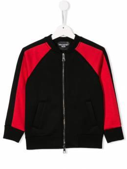 Neil Barrett Kids - куртка на молнии 65993996338000000000