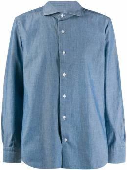 Barba - рубашка с заостренным воротником 60658699560906500000