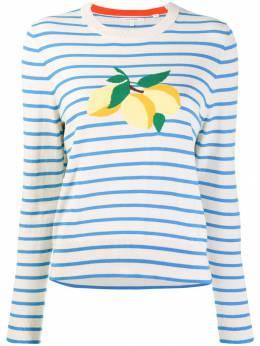 Chinti & Parker - свитер в полоску с принтом 99566699900000000000