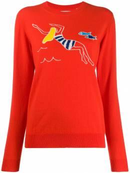 Chinti & Parker свитер с принтом KP03