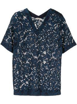 Nina Ricci - прозрачная кружевная футболка CTO699CO6899U5059939