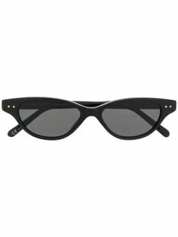 Linda Farrow солнцезащитные очки в овальной оправе LFL965C1SUN