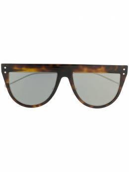 Fendi Eyewear - солнцезащитные очки в оправе черепаховой расцветки 330S9593565600000000