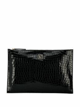 L'Autre Chose клатч с тисненым логотипом LBK00503500381001