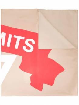 UNDERCOVER - объемный шарф с принтом 5Z699938553930000000