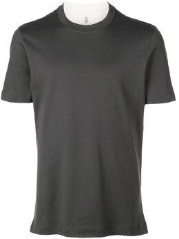 Brunello Cucinelli - футболка с круглым вырезом 533503CT395959505060