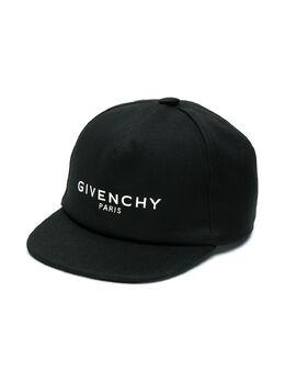 Givenchy Kids - бейсбольная кепка с логотипом F9669B95953889000000