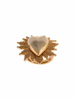 Oscar De La Renta heart-shaped ring F19J407GOL