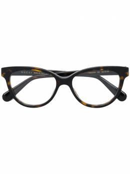 Gucci Eyewear - классические очки в квадратной оправе 333O9356058600000000