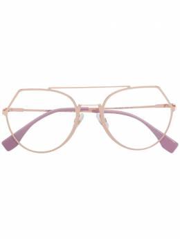 Fendi Eyewear - очки-авиаторы 30993380353000000000