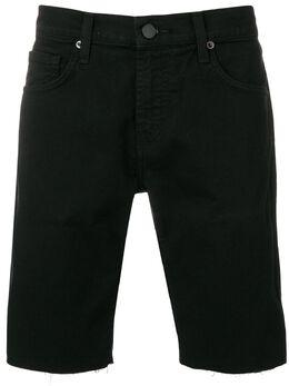 J Brand - джинсовые бермуды с необработанным краем 69368933955850000000
