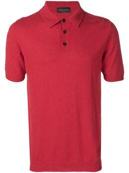 Roberto Collina - махровая рубашка-поло 56059365983300000000