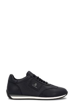 Кожаные кроссовки с декором Billionaire 1668144694