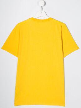 Stone Island Junior - футболка с логотипом 99606056953066560000
