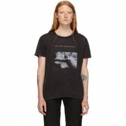 R13 Black Joy Division Love Will Tear Us Apart Boy T-Shirt 192021F11000703GB
