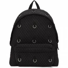 Raf Simons Black Eastpak Edition Padded Loop Quilted Backpack 192287M16600301GB