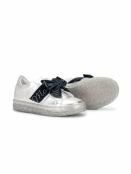 Monnalisa - slip-on bow sneakers 66853909533805600000