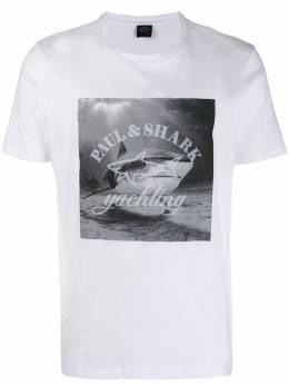 Paul & Shark футболка с принтом A19P1693