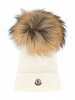 Moncler Kids - classic knitted beanie hat 966565S6995306036000