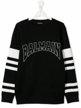 Balmain Kids толстовка с логотипом 6L4540LX200930BC