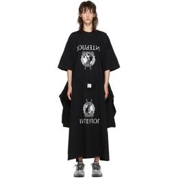 Vetements Black T-Shirt Dress 192669F05400502GB