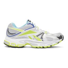 Vetements White Reebok Edition Runner 200 Sneakers 192669F12800304GB