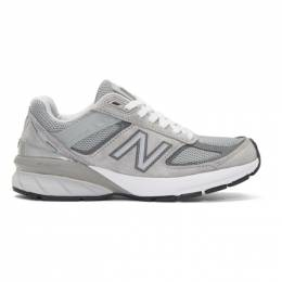 New Balance Grey US Made 990 V5 Sneakers W990GL5
