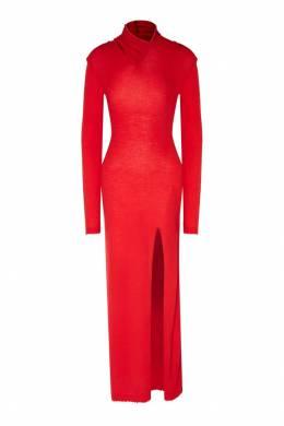 Красное платье из шерсти Unravel Project 2852145102