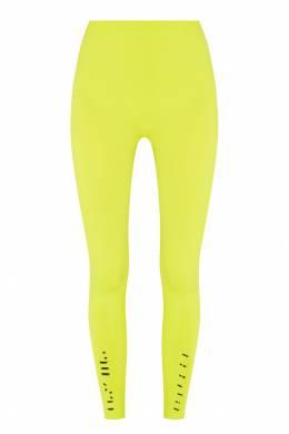 Желтые леггинсы с прорезями Unravel Project 2852145101