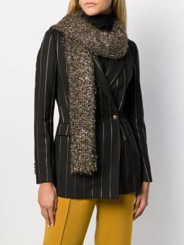Faliero Sarti - фактурный шарф с эффектом металлик 0668SHOKKA9535599900