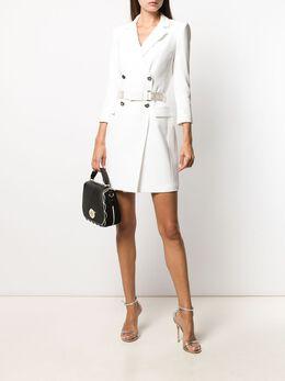 Elisabetta Franchi - приталенное платье-пиджак 6396E0V5599535655600