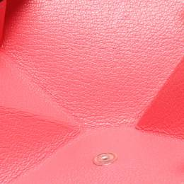 Hermes Pink Leather 24 Coin Purse 215988