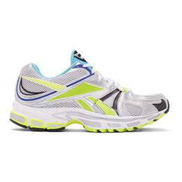 Vetements Grey Reebok Edition Spike Runner 200 Sneakers 192669M23700607GB