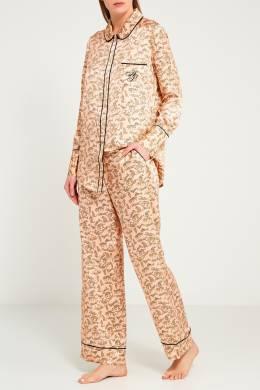 Брюки пижамы Catalyna бежевые Agent Provocateur 6967368