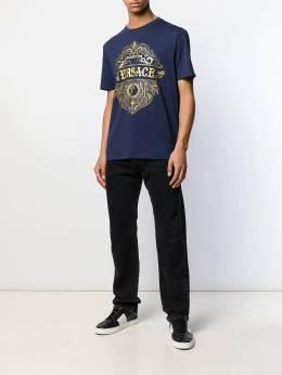 Versace Collection - футболка с принтом Sheriff Badge 6683RVJ6669695959066