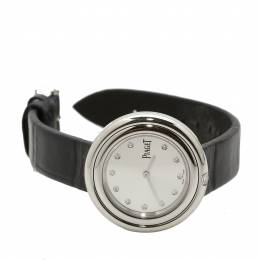 Piaget Silver Stainless Steel Possession P11479 Women's Wristwatch 34MM 200506
