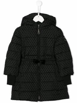 Monnalisa - padded spotted coat 99556699535933000000