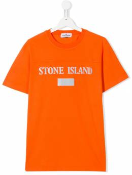 Stone Island Junior футболка с логотипом MO711620246