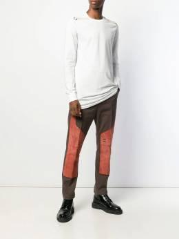 Rick Owens - удлиненная футболка 9F5066JAEC9959859550