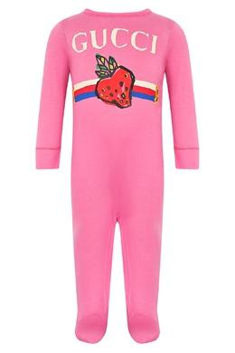 Комплект в розовом цвете Gucci Kids 1256146136