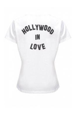 Белая футболка с принтами Pinko 2198145920