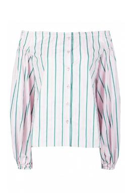 Розовая рубашка с открытыми плечами Pinko 2198146022