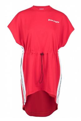 Красное платье-футболка Palm Angels 1864145938