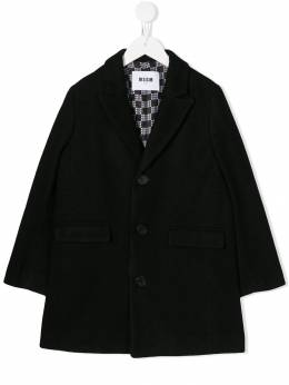 Msgm Kids - single breasted coat 30995368089000000000